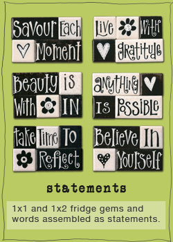 Assorted Black & White motivational statement sets by eachanoriginal